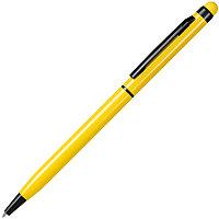 Ручка шариковая со стилусом TOUCHWRITER BLACK, глянцевый корпус, Желтый, -, 1104 03