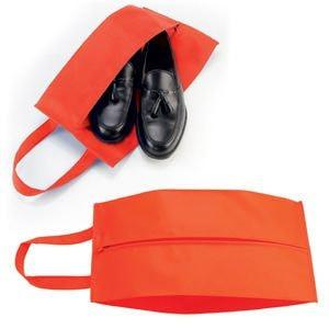 """Футляр для обуви на молнии """"HAPPY TRAVEL"""", Красный, -, 344182 08"""