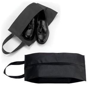 """Футляр для обуви на молнии """"HAPPY TRAVEL"""", Черный, -, 344182 35"""