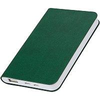 """Универсальный аккумулятор """"Softi"""" (4000mAh),зеленый, 7,5х12,1х1,1см, искусственная кожа,пл, Зеленый, -, 23100"""