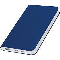 "Универсальный аккумулятор ""Softi"" (4000mAh), темно-синий, 7,5х12,1х1,1см, искусственная кожа, Темно-синий, -,"