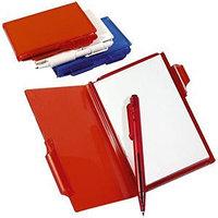 Блокнот для записей с авторучкой, Красный, -, 7131 08