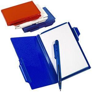 Блокнот для записей с авторучкой, Синий, -, 7131 24