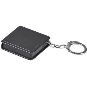 Брелок-рулетка (1 м), Черный, -, 7305 35