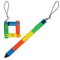 """Авторучка-трансформер  """"Радуга"""" с фонариком, разные цвета, , 14021, фото 1"""