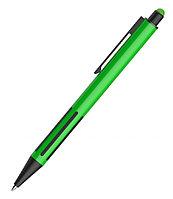 Ручка шариковая со стилусом IMPRESS TOUCH, прорезиненный грип, Зеленый, -, 40304 15