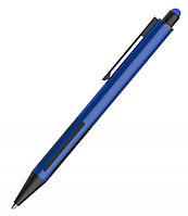 Ручка шариковая со стилусом IMPRESS TOUCH, прорезиненный грип, Синий, -, 40304 25