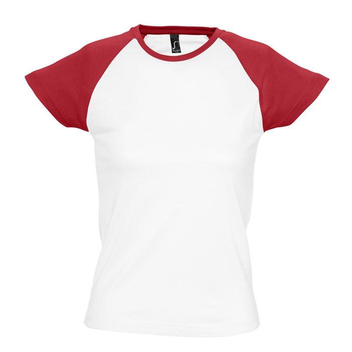 Футболка женская MILKY 150, Красный, S, 711195.145 S