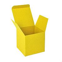 Коробка подарочная CUBE, Желтый, -, 32004 03