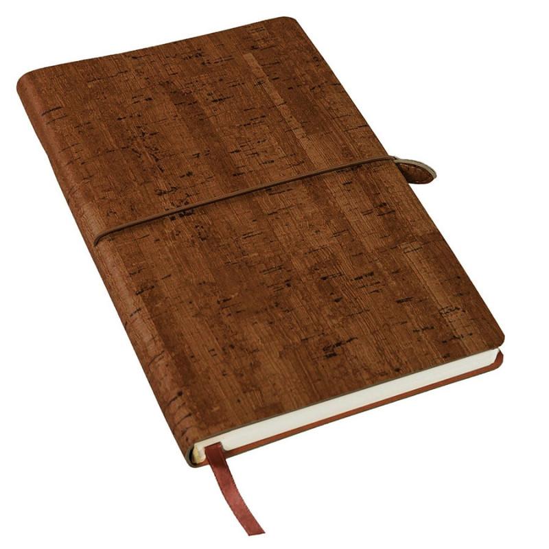 Ежедневник недатированный WOODY, формат А5, Коричневый, -, 24703 14