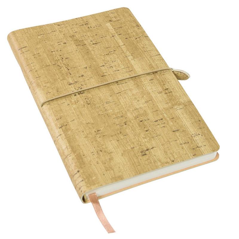 Ежедневник недатированный WOODY, формат А5, Коричневый, -, 24703 12