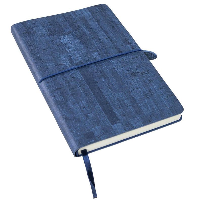 Ежедневник недатированный Woody, А5,  темно-синий, кремовый блок, без обреза, Темно-синий, -, 24703 26