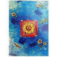 Открытка поздравительная, разные цвета, , 141206