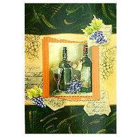 """Открытка поздравительная """"Вино"""", разные цвета, , 144699"""