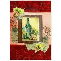 """Открытка поздравительная """"Вино"""", разные цвета, , 144700"""