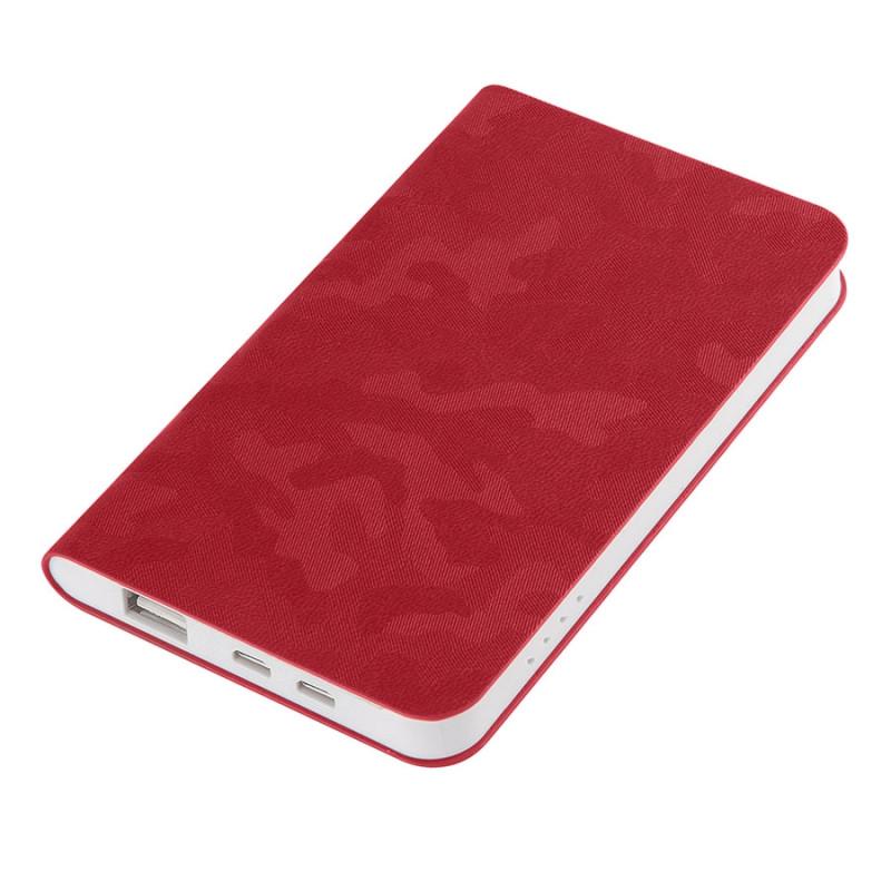 """Универсальный аккумулятор """"Tabby"""" (4000mAh),красный, 7,5х12,1х1,1см, Красный, -, 23105 08"""