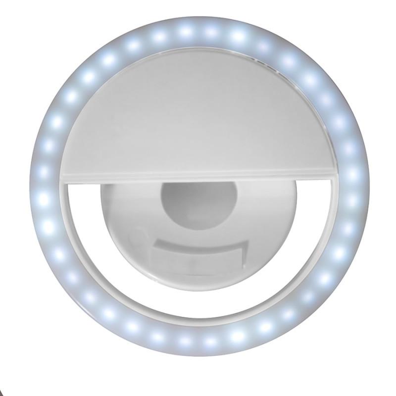 Подсветка для селфи SPOTLIGHT, Белый, -, 26100 01