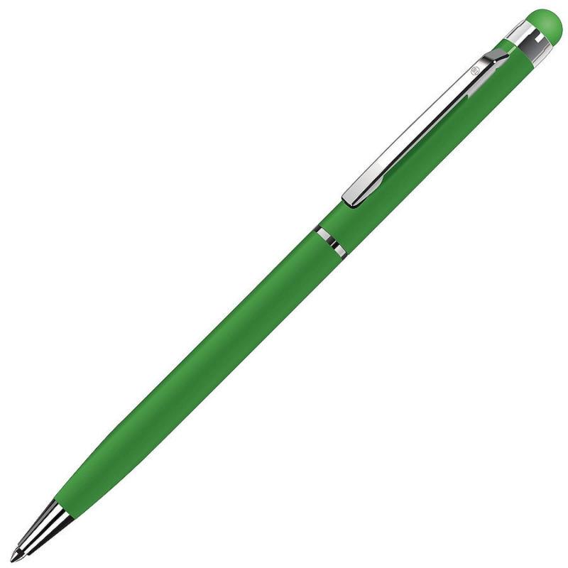 Ручка шариковая со стилусом TOUCHWRITER, Зеленый, -, 1102 15