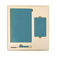 Набор подарочный PROVENCE: универсальное зарядное устройство (4000мАh), блокнот и ручка, Бежевый, -, 20220 124