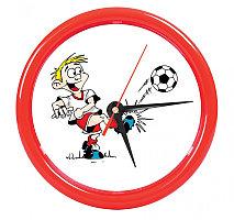 """Часы настенные """"PRINT"""" для рекламной вставки , Красный, -, 22006 08"""