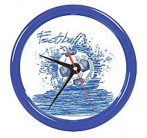 """Часы настенные """"PRINT"""" для рекламной вставки , Синий, -, 22006 26"""