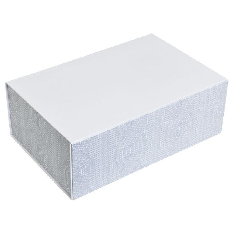 """Упаковка подарочная, коробка """"Irish"""" складная, Белый, -, 20410 01 - фото 1"""