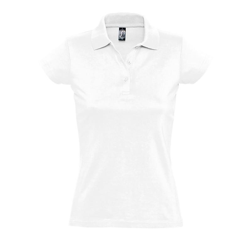 Поло женское PRESCOTT WOMEN 170, Белый, L, 711376.102 L
