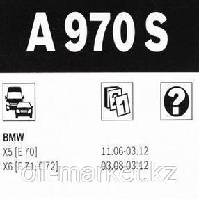 BOSCH Комплект стеклоочистителей Aerotwin 600/500mm (A 970 S) BMW X5 (E70) 07>, фото 2