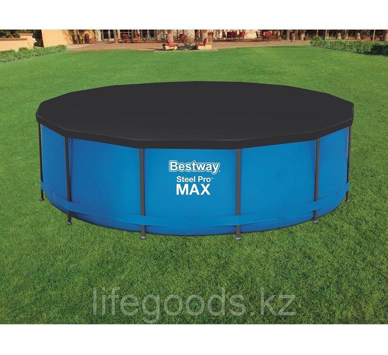 Тент для каркасных бассейнов диаметром 360-366 см, Bestway 58037