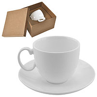 """Чайная пара  """"Романтика"""" в подарочной упаковке, белый, , 13609"""