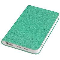 """Универсальный аккумулятор """"Provence"""" (4000mAh),зеленый,7,5х12,1х1,1см, искусственная кожа,пл, Зеленый, -,"""