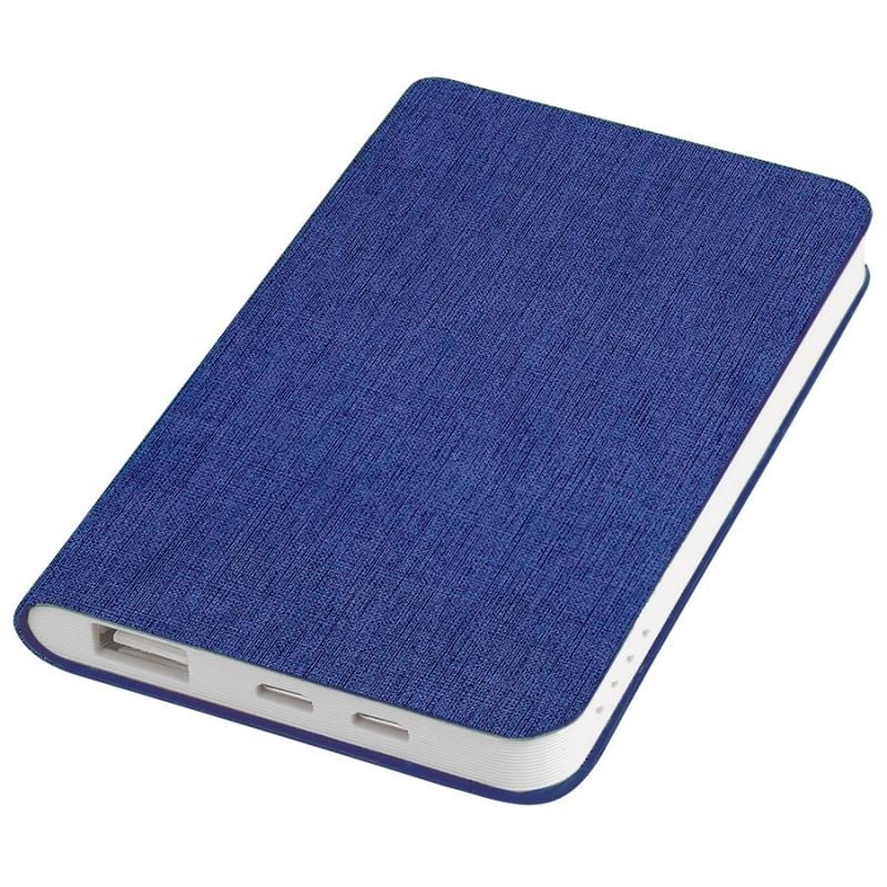 """Универсальный аккумулятор """"Provence"""" (4000mAh),синий,7,5х12,1х1,1см, искусственная кожа,плас, Синий, -, 23103 25"""