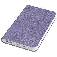 """Универсальный аккумулятор """"Provence"""" (4000mAh),сиреневый,7,5х12,1х1,1см, искусственная кожа, Фиолетовый, -,"""
