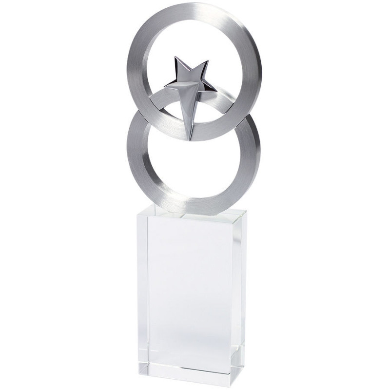 """Стела  """"Полярная звезда"""" в подарочной упаковке, серебристый, , 13135"""