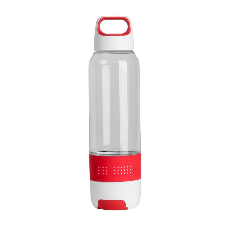 Бутылка с полотенцем TRAINER, Белый, -, 11919 08
