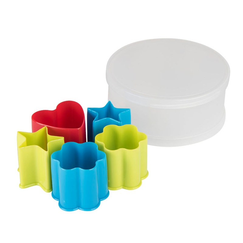 Набор формочек для печенья KENZZO (5 шт) в коробке, разные цвета, , 344668