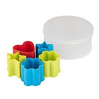 Набор формочек для печенья KENZZO (5 шт) в коробке, разные цвета, , 344668, фото 1