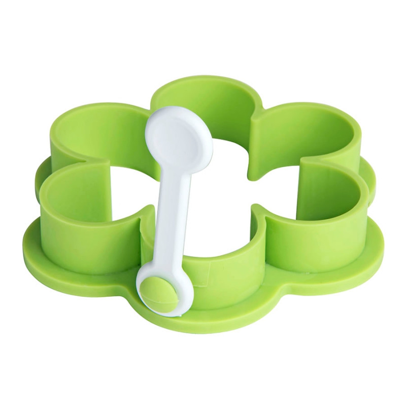 """Формочка для приготовления яичницы  """"Цветок"""", Зеленый, -, 345496 15"""