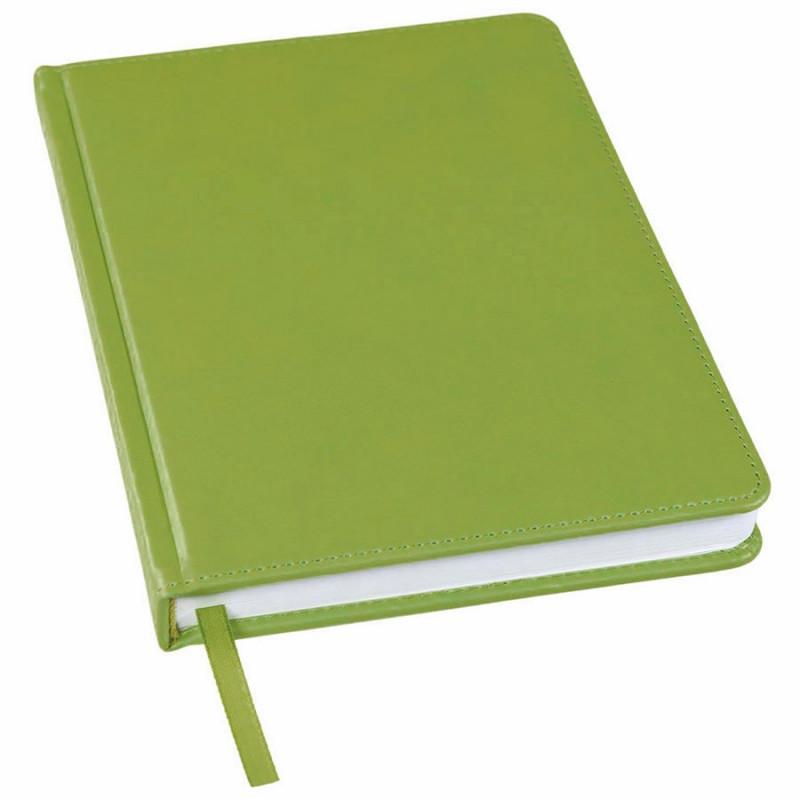 Ежедневник недатированный Bliss, А5,  оливковый, белый блок, без обреза, Зеленый, -, 24601 09