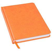 Ежедневник недатированный Bliss, А5,  оранжевый, белый блок, без обреза, Оранжевый, -, 24601 05