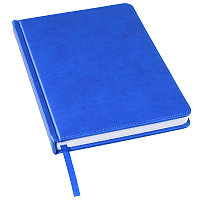 Ежедневник недатированный Bliss, А5,  синий ройал, белый блок, без обреза, Синий, -, 24601 24