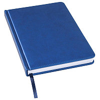 Ежедневник недатированный Bliss, А5,  синий, белый блок, без обреза, Синий, -, 24601 25