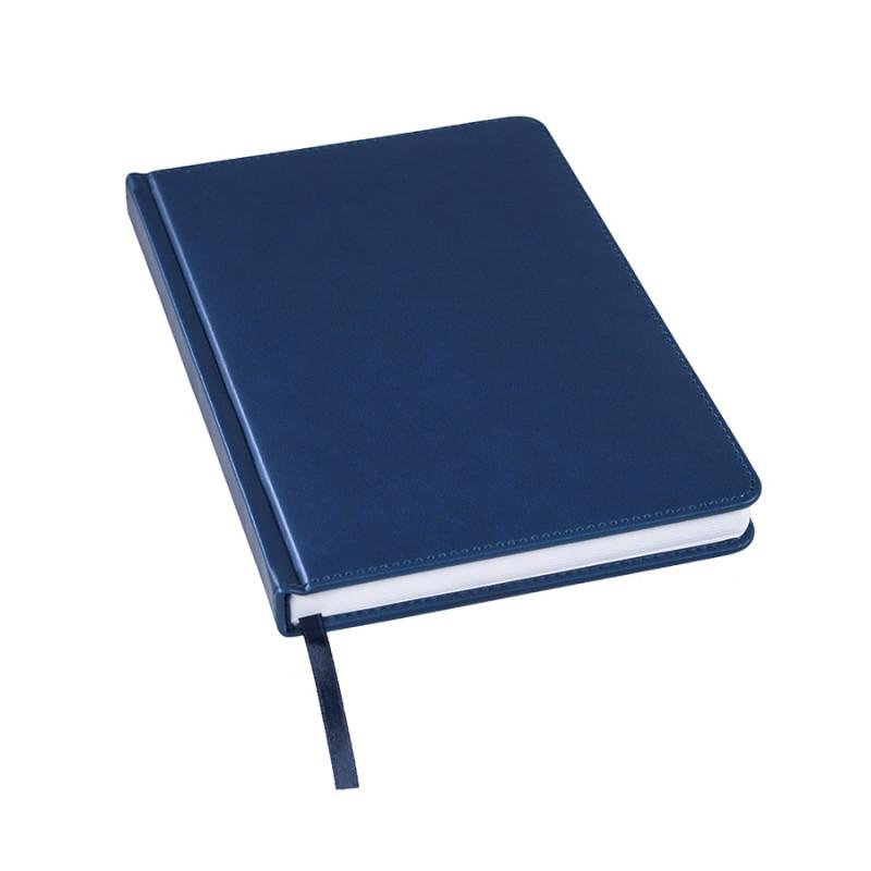 Ежедневник недатированный Bliss, А5,  темно-синий, белый блок, без обреза, Темно-синий, -, 24601 26