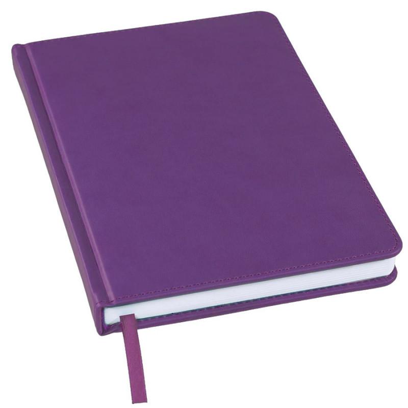 Ежедневник недатированный Bliss, А5,  фиолетовый, белый блок, без обреза, Фиолетовый, -, 24601 11