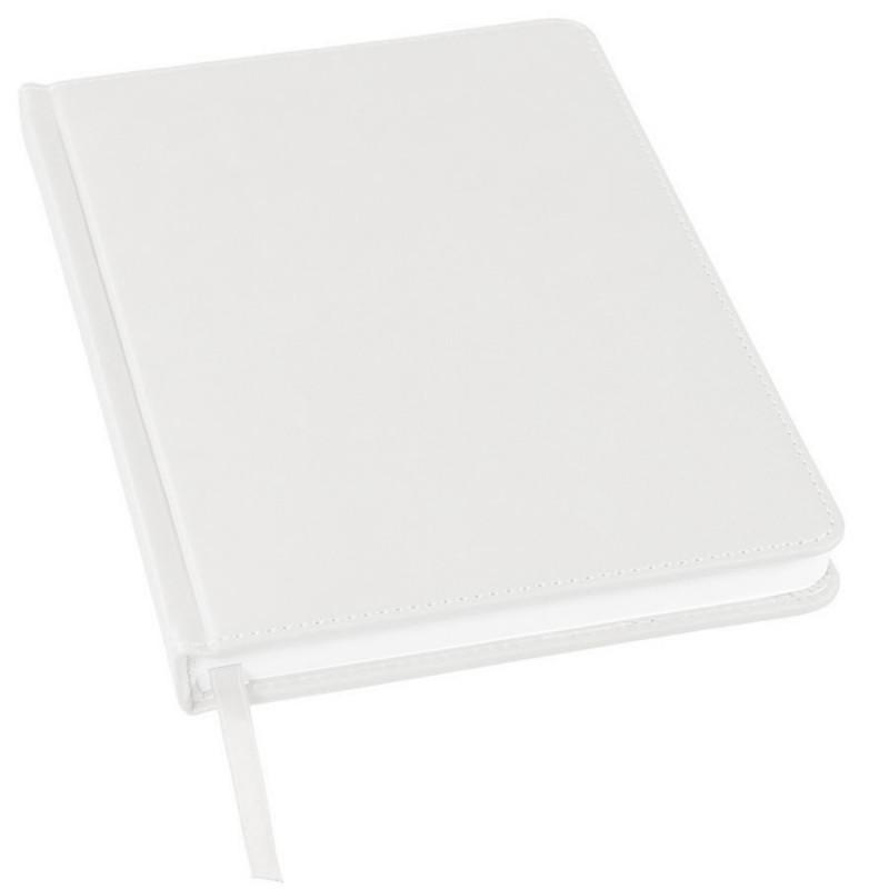 Ежедневник недатированный Bliss, А5,  белый, белый блок, без обреза, Белый, -, 24601 01