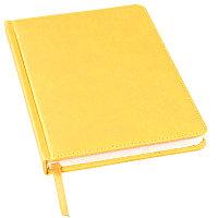 Ежедневник недатированный Bliss, А5,  желтый, белый блок, без обреза, Желтый, -, 24601 03
