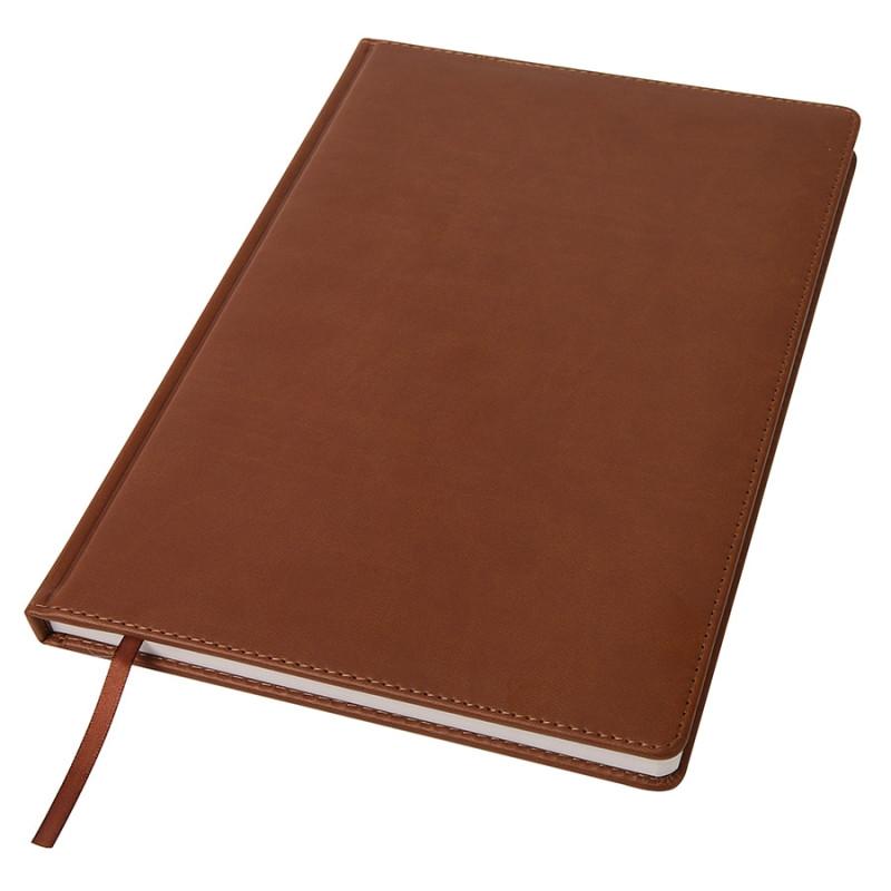 Ежедневник недатированный Bliss, А4,  коричневый, белый блок, без обреза, Коричневый, -, 24602 14