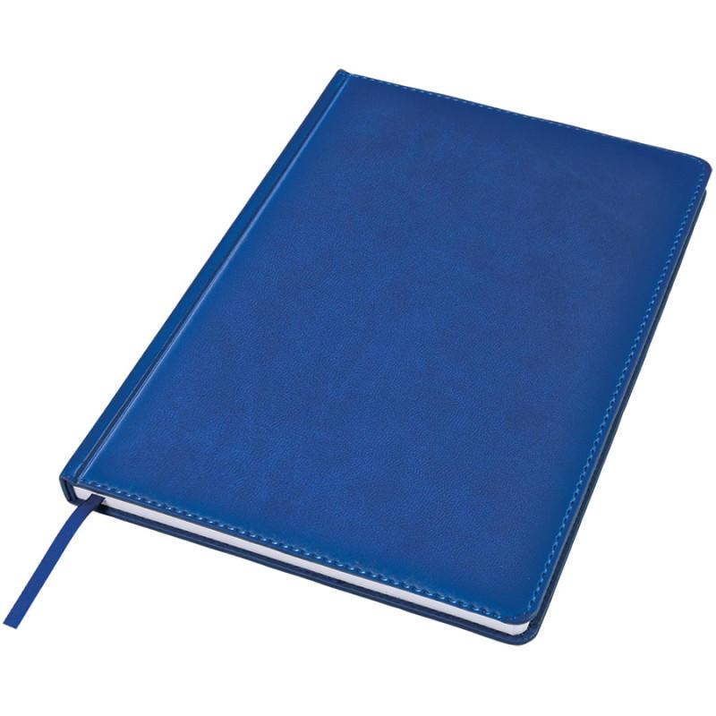 Ежедневник недатированный Bliss, А4,  синий, белый блок, без обреза, Синий, -, 24602 25