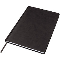 Ежедневник недатированный Bliss, А4, черный, белый блок, без обреза, Черный, -, 24602 35
