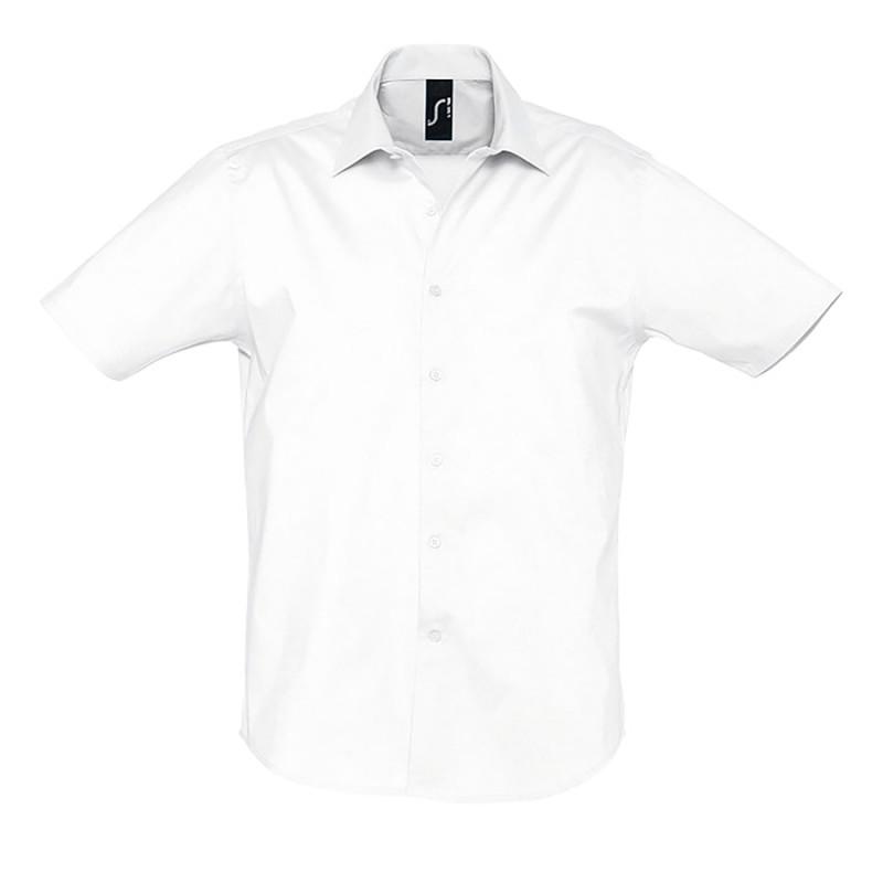 Рубашка мужская BROADWAY 140, Белый, M, 717030.102 M